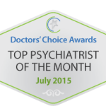 Doctor's Choice Awards Top Psychiatrist July 2015